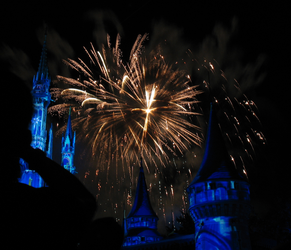 Castle Fireworks Show IMG 1073 by TheStockWarehouse