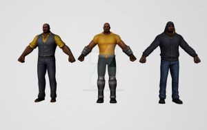 Luke Cage Collection by Pitermaksimoff