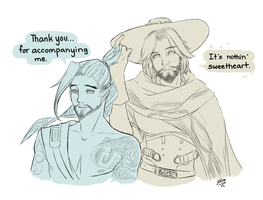 Overwatch: McHanzo Comic by Mikouchan