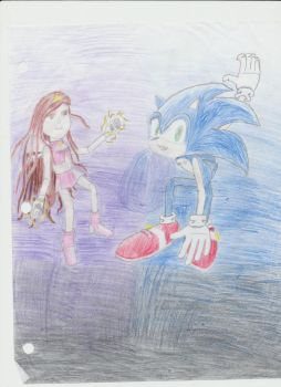 Me And Sonic by Rachel-Savaya