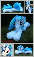 Vinyl Scratch Beanie: MLP Inspired Plushie by MayEsdot