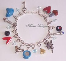 Handmade Custom A Link To The Past Charm Bracelet by TorresDesigns
