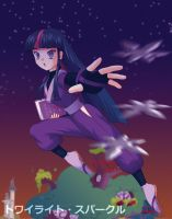 Ninja Twilight Sparkle by Agu-Fungus