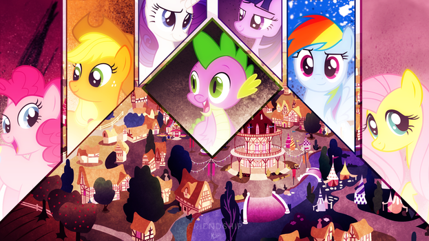 Friendship VIP ~ Wallpaper by Karl97