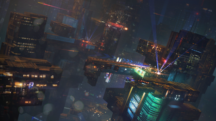 S-F Night City by regnar3712