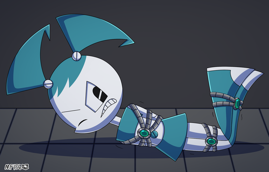 Restrained Robot by MangaFox156