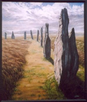 The Ring of Brodgar by ObsidianSerpent