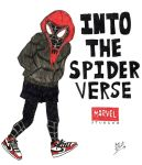 Miles Morales : Into The Spider Verse by BOSSTHITIWUT