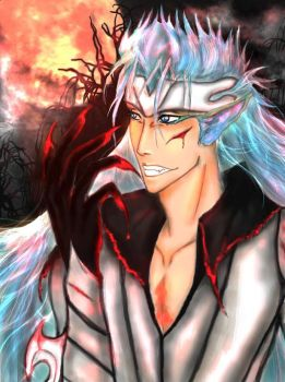 Grimmjow in released form by kiara7055