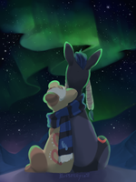 Northern lights by BlueberryChill