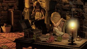 WoE: The Right Potion! by Edheldil3D