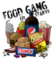Food Gang or Starve by Formidabler