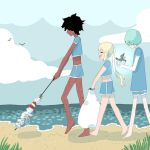 [DS] Cleaning the Beach! by KatyaHam