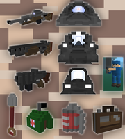 Ace of Spades Voxel set [NOT AVAILABLE} by LeetZero