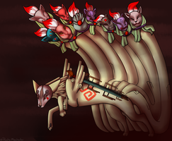 Ninetails by Psycho-Manchester