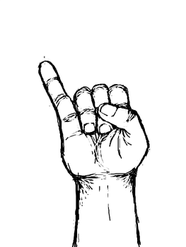 Hand-A-Day 2 'I' by Animus3