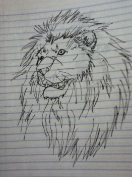 lion by v-is-a-beast