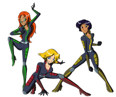 Totally Spies - Rebooted by Moheart7
