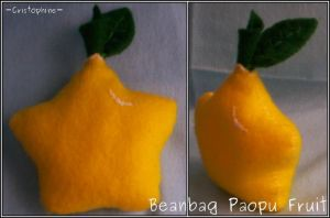 Beanbag Paopu Fruit by Cristophine