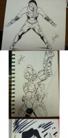 FantasyCon 2012 sketch commisssions by wheretheresawil
