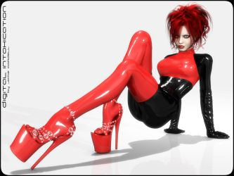 Sexy Red by JamieCordell