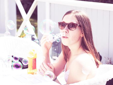bubbles by camary