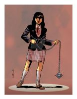 Gogo Yubari from Kill Bill by mistertheriault