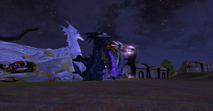 Nighttime in New Trismus by Aekaitz