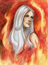Mother of Dragons by Chashirskiy