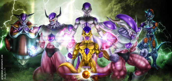 Freeza The Mighty by Grapiqkad