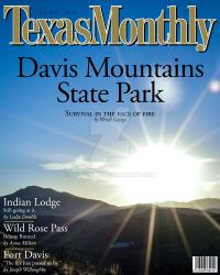 Texas Monthly Magazine Cover by WendiJo129