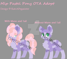 MLP Pastel Pony OTA Adopt | Open | LOWERED PRICE | by Kaiimira