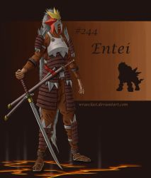 Entei Concept by Wraeclast