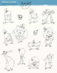 Penguin Designs by Themrock