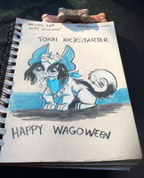 Inktober 22 Wagoween by LytletheLemur