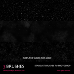 Stardust Brushes by Bloody-Goodbyes