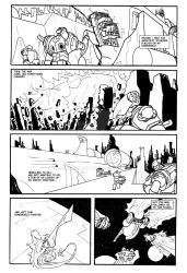 6-Hour Comics Fallen Ambition2 by SamGarland