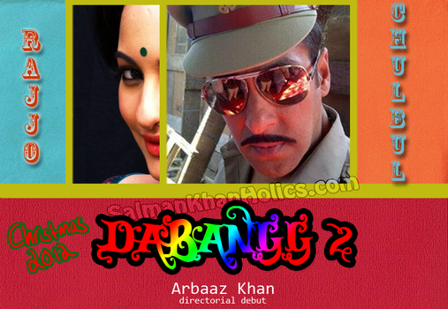Unofficail Poster of Salman Khan's Dabangg 2! by SalluLicious