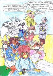 LEP Comic Cover - Female Issue by CCB-18