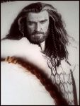 Braids and Beards - Thorin WIP by Cataclysm-X