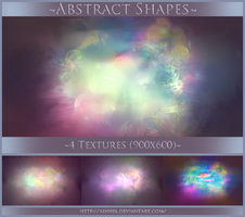 #3 Texture Pack - Abstract Shapes by Ainhel