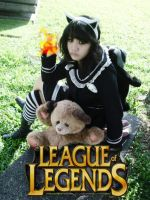 League of Legends: Goth Annie cosplay IV by KreizzlerKei