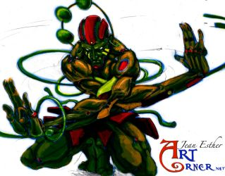 meta dhalsim colors by Jesther101