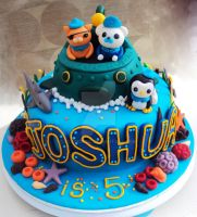 Octonauts cake! by clvmoore
