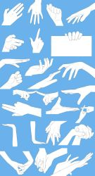 a lot of hands by grimay