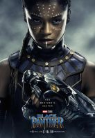 Marvel's Black Panther Shuri Poster by Artlover67