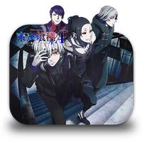 Tokyo Ghoul 2 Folder Icon by Minacsky-saya