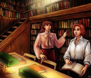 Library by lonsheep