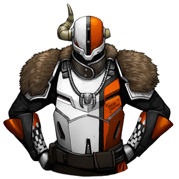 Lord Shaxx by FonteArt