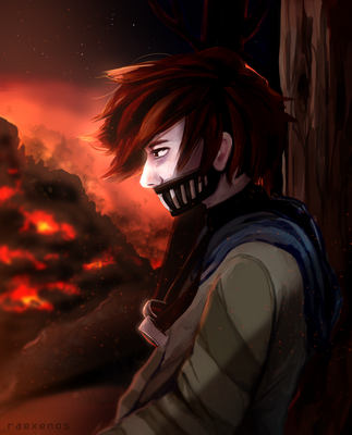 Wildfire   Ticci Toby by raexenos